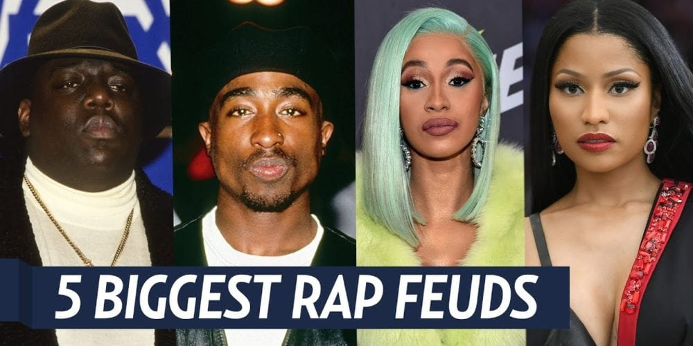 Top 5 Biggest Rap Feuds