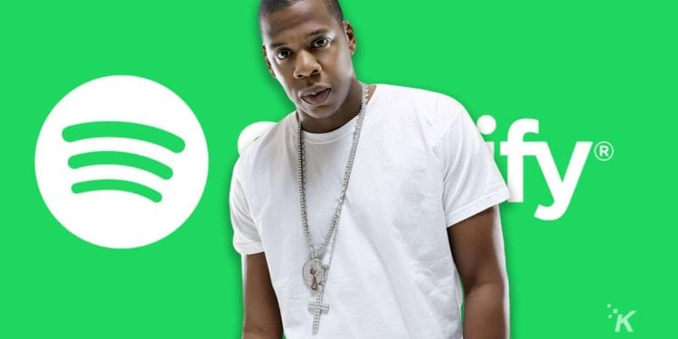 Jay Z Music Playing On Spotify