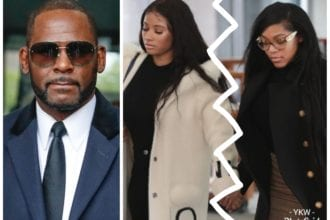 R Kelly's Girlfriends Get Into Heated Exchange