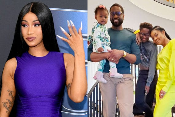 Cardi B Supports Dwayne Wade's Son Gender Transition