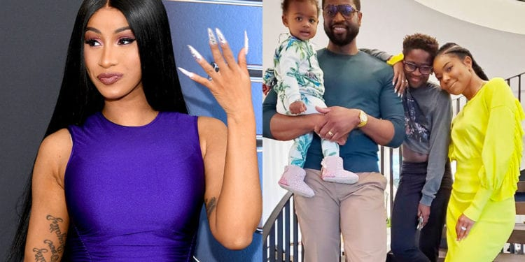 Cardi B Supports Dwayne Wade's Son Gender Transition
