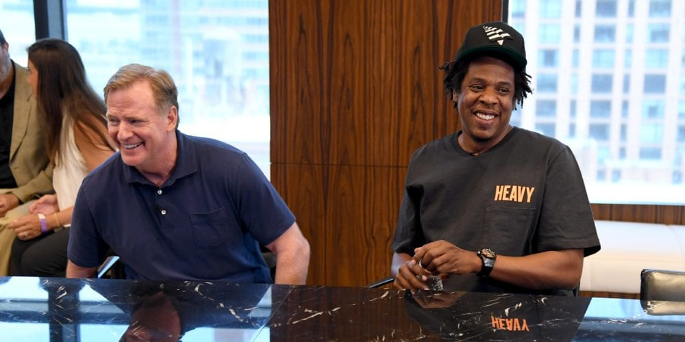 Jay-Z Gets NFL to Commit $100M For Social Justice
