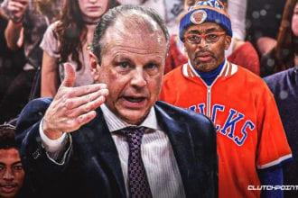 Spike Lee Upset With NBA Knicks Organization