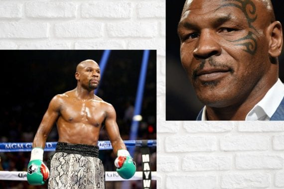 floyd mayweather and mike tyson