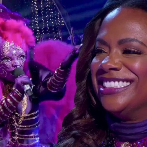 kandi burruss night angel masked singer