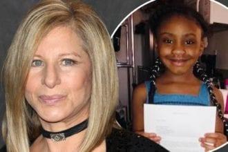 Barbara Streisand Gifts George Floyd's Daughter