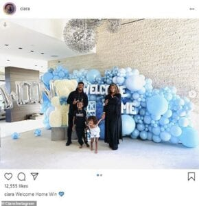 ciara and russell wilson welcome new baby