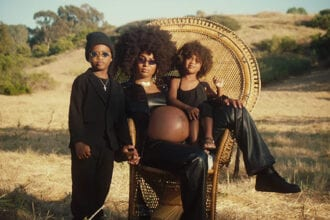 ciara and kids in rooted video