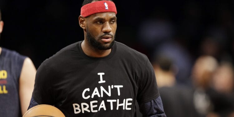 Lebron James Stays True To The Cause