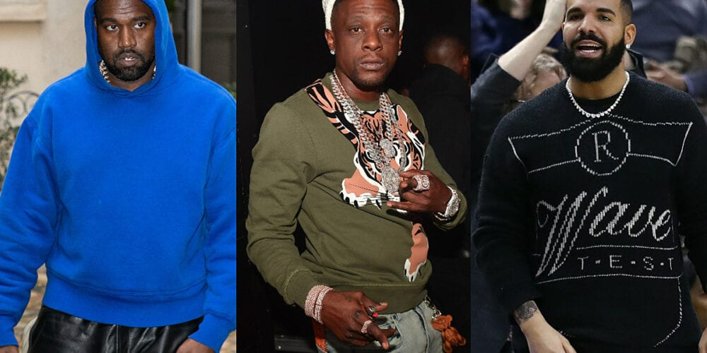 Boosie Calls Out Kanye For Dissing Drake