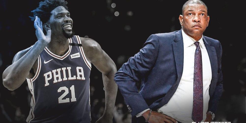 76ers Hire Coach Doc Rivers.