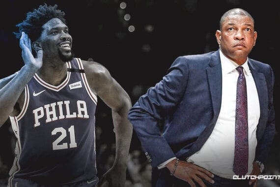 76ers Hire Coach Doc Rivers.