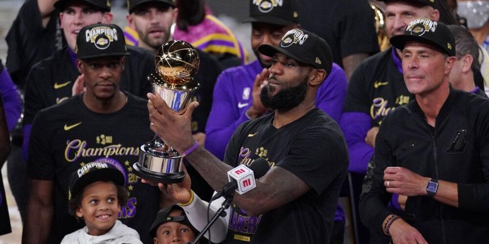 Lakers Win NBA Championship