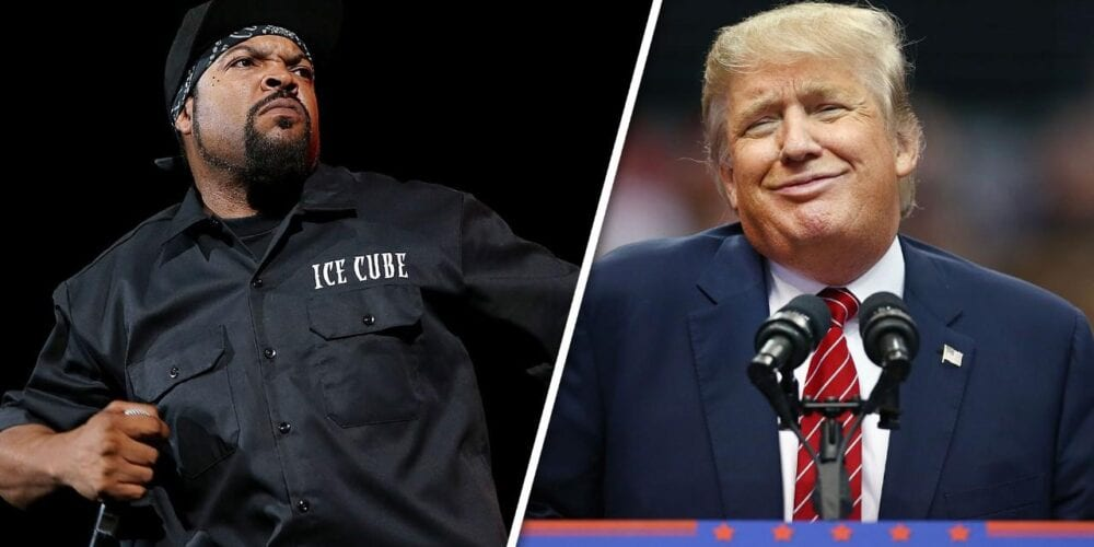 Is Ice Cube Working With Trump?