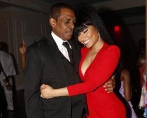 Nicki Minaj and Dad