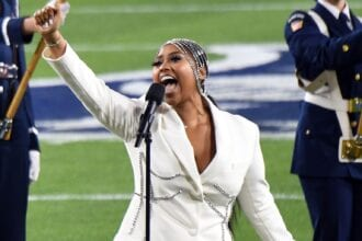 Jazmine Sullivan Performs At Super Bowl